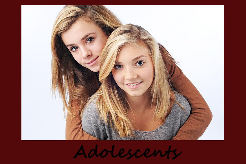 Hommes femmes adolescent à